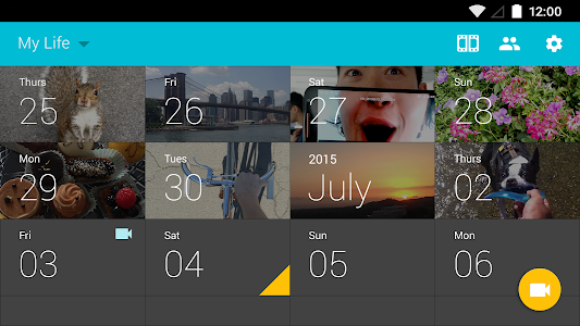 screenshot of 1 Second Everyday: Video Diary version *Make sure your Google Play app is up to date.