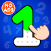 123 Numbers Tracing & Counting Game for Kids