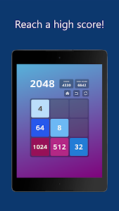 screenshot of 2048 version Varies with device