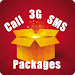 Mobile Packages: 3G,SMS & Call