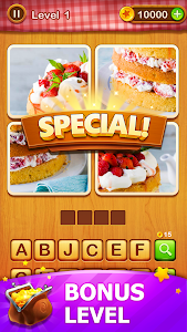 screenshot of 4 Pics Guess 1 Word - Word Games Puzzle version 2.8