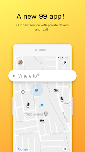 screenshot of 99 - Private Driver and Taxi version 6.5.5