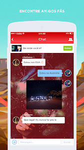 screenshot of ARMY BTS Amino em Português version 1.1.6246