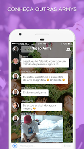 screenshot of ARMY Amino para BTS em Português version 2.7.32302