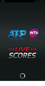 screenshot of ATP/WTA Live version Varies with device