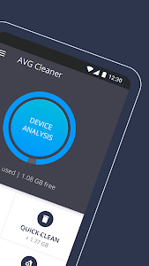 screenshot of AVG Cleaner – Speed, Battery, Memory & RAM Booster version Varies with device