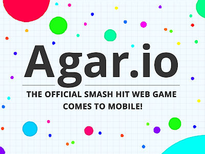 screenshot of Agar.io version 2.4.9