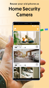 screenshot of Alfred Home Security Camera, Baby&Pet Monitor CCTV version 4.3.3 (build 2130)