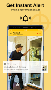 screenshot of Alfred Home Security Camera version 3.16.3 (build 1692)