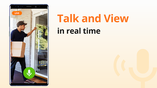 screenshot of Alfred Home Security Camera, Baby&Pet Monitor CCTV version Varies with device