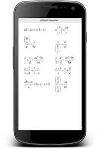 screenshot of All Math Formula version 1.8