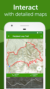 screenshot of AllTrails: Hiking, Running & Mountain Bike Trails version 9.1.10