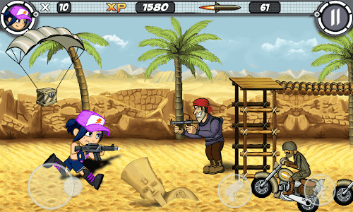 screenshot of Alpha Guns version 14.3