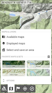 screenshot of AlpineQuest Off-Road Explorer (Lite) version Varies with device