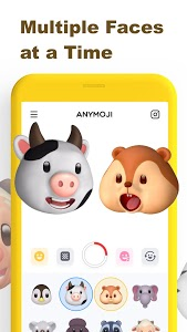 screenshot of Anymoji - Emoji Face Recorder version 1.2.1