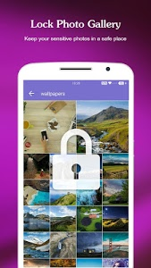 screenshot of AppLock - Fingerprint & Password, Gallery Locker version 3.7.1