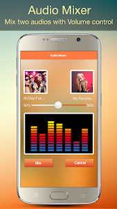 screenshot of Audio MP3 Cutter Mix Converter version 1.37