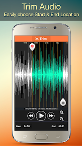 screenshot of Audio MP3 Cutter Mix Converter and Ringtone Maker version 1.53