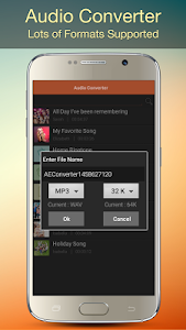 screenshot of Audio MP3 Cutter Mix Converter and Ringtone Maker version 1.63