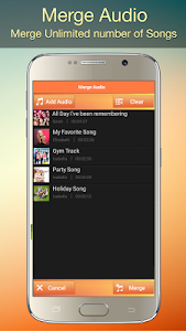 screenshot of Audio MP3 Cutter Mix Converter and Ringtone Maker version 1.66