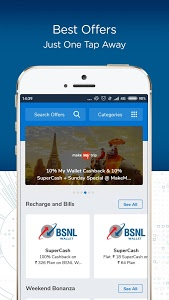 screenshot of BSNL Wallet- Recharge,Bill Payments,Money Transfer version 8.0