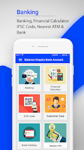 screenshot of Balance Enquiry Bank Account version 1.25