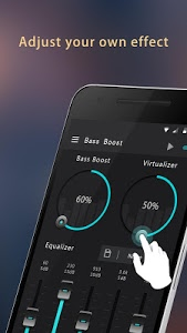 screenshot of Bass Booster version 1.1.4