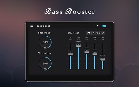 screenshot of Bass Booster & Equalizer version 1.1.7