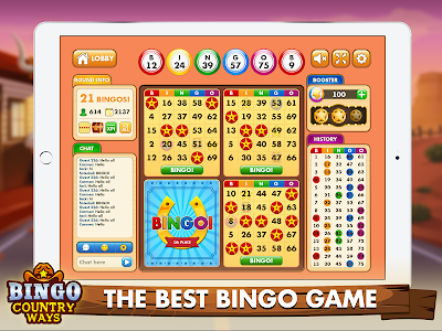 screenshot of Bingo Country Ways: Best Free Bingo Games version 0.62.14