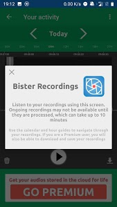 screenshot of Bister version 1.1.0-stable