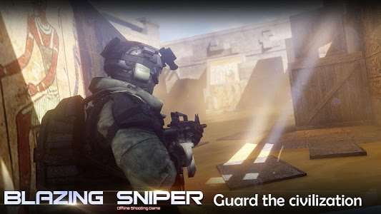 screenshot of Blazing Sniper - offline shooting game version 1.8.0