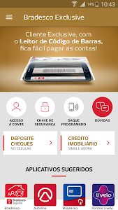 screenshot of Bradesco Exclusive version 2.1.74