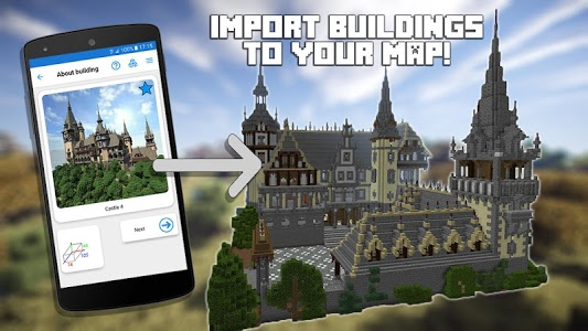 screenshot of Builder for Minecraft PE version 12.2.0