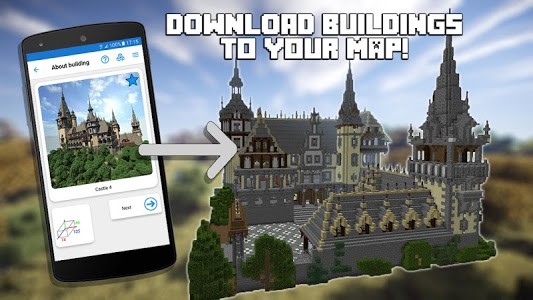 screenshot of Builder for Minecraft PE Free version 15.2.2