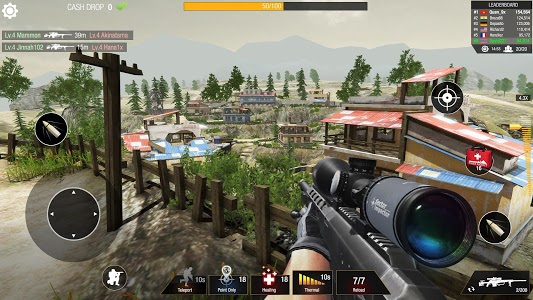 screenshot of Bullet Strike: Sniper Games - Free Shooting PvP version 0.9.9.0