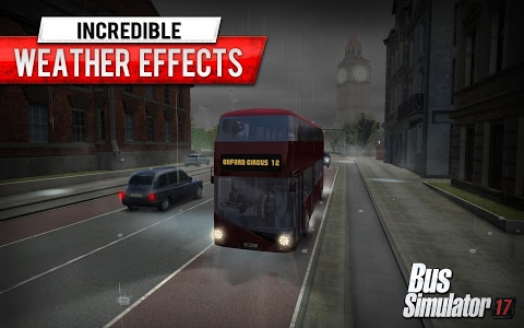 screenshot of Bus Simulator 17 version 1.5.0