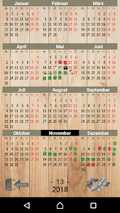 screenshot of Calendario Paint version 13