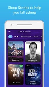 screenshot of Calm - Meditate, Sleep, Relax version Varies with device