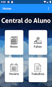 screenshot of Central do Aluno - PE version 8.2.4