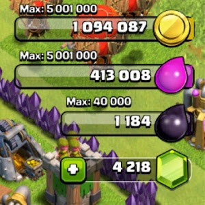 screenshot of Cheat for Clash Of Clans-prank version 1.0