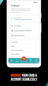 screenshot of Checkers: Online Groceries and Savings version 5.1.4