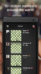 screenshot of Chess · Play & Learn version Varies with device