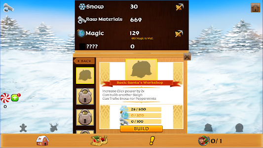 screenshot of Christmas Clicker: Idle Gift Builder version 4.1.6