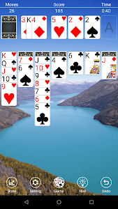 screenshot of Classic Solitaire Free version 2.0.0