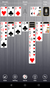 screenshot of Classic Solitaire Free version 2.6.0