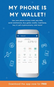 screenshot of Coins.ph Wallet version 3.3.5