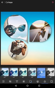 screenshot of Photo Collage Editor & Collage Maker - Quick Grid version 5.7.9
