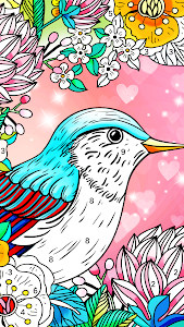 screenshot of Color Fun - Color by Number & Coloring Books version 1.2.3