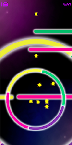 screenshot of Color Neon (Casual single tap game) version 1.1