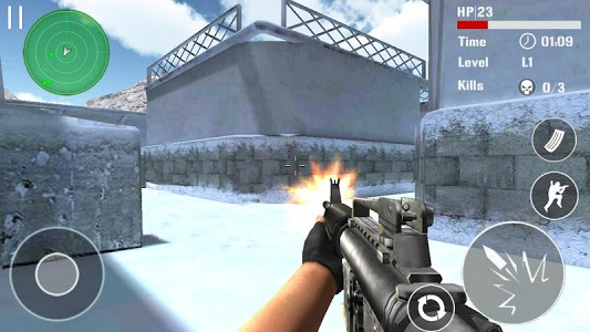 screenshot of Counter Terrorist Shoot version 3.0